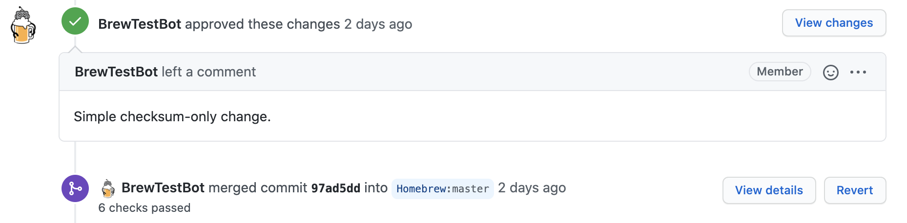 BrewTestBot merged the pull request